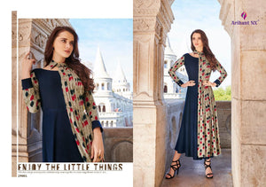 KT0107(XL)04 - Stylish Kurti Arihant Nx Rivaah Vol 3
