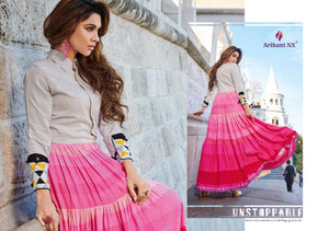 KT0107(XL)07 - Stylish Kurti Arihant Nx Rivaah Vol 3