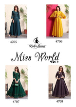 Load image into Gallery viewer, KT0106(XXL)02 - Stylish Kurti Miss World Vol 4