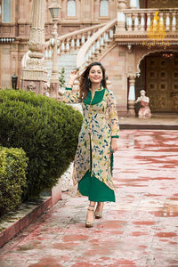 KT0101(XL)01 - Stylish Kurti Kajal Style Fashion Blossom Vol 3