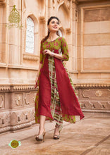 Load image into Gallery viewer, KT0101(XL)09 - Stylish Kurti Kajal Style Fashion Blossom Vol 3