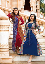 Load image into Gallery viewer, KT0101(XL)03 - Stylish Kurti Kajal Style Fashion Blossom Vol 3