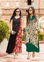 Load image into Gallery viewer, KT0101(XL)02 - Stylish Kurti Kajal Style Fashion Blossom Vol 3