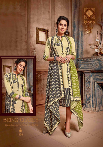KT0105(XXL)08 - Stylish Kurti Kiana Vintage Vol 3