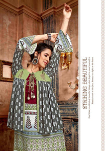 KT0105(XXL)03 - Stylish Kurti Kiana Vintage Vol 3