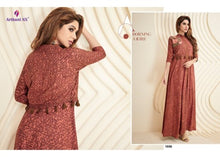 Load image into Gallery viewer, KT0103(L)07 - Stylish Kurti Arihant Nx Palchu Vol 5