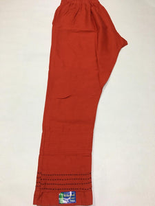 PL124 - (2XL Size) Plazzo Pant with pattern at bottom