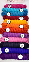Load image into Gallery viewer, Solid Plain Cotton Dupatta (Pack of 5 for 500 Rs) (Rs 100/pc)