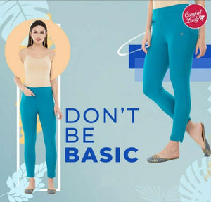 Comfort Lady Kurti Pants (Plus Size Pack of 5) - Rs 350/pc (Save 875 Rs overall)