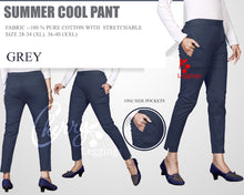 Load image into Gallery viewer, PP106 - Plazzo Pant Summer Cool Fabric Grey