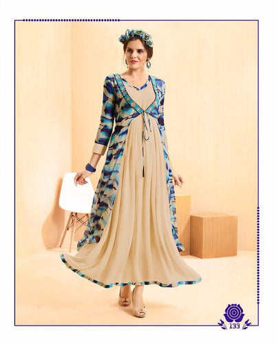 KT0207(M) 03 - Stylish Kurti Rangoli Vol 2