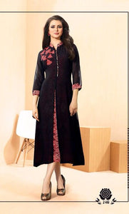 ZKT0207(M) 10 - Stylish Kurti Rangoli Vol 2