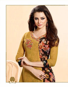 KT0207(M) 11 - Stylish Kurti Rangoli Vol 2
