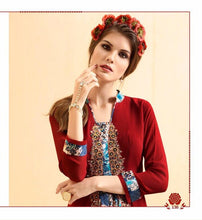Load image into Gallery viewer, KT0207(M) 06 - Stylish Kurti Rangoli Vol 2