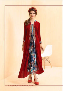 KT0207(M) 06 - Stylish Kurti Rangoli Vol 2