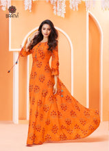Load image into Gallery viewer, KT0401(M) - Saanvi Long Kurties Big Flares 05