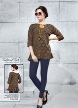 Load image into Gallery viewer, TP0404(M)04 - Stylish Rayon Print Top