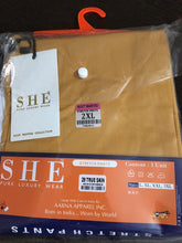 "Load image into Gallery viewer, 2XL size - Stretchable Pant from Premium brand ""SHE"" (2XL size)"