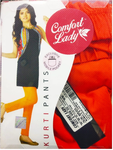 Comfort Lady Kurti Pants (Free Size Pack of 2) - Rs 399/pc (Save 200 Rs overall)