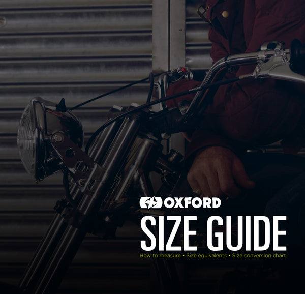 Oxford Sizing Guide