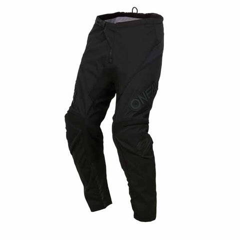 Oneal Element offroad/dirt pants in Classic Black colourway for adults and youth