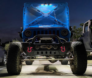 RockinLED JK JKU HOOD HALO ENGINE BAY LED KIT