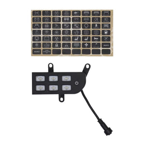 JL300 6-switch Programmable Switch Panel Power Control System for Jeep Wrangler JL JLU and Gladiator
