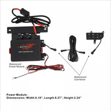 Load image into Gallery viewer, JL300 6-switch Programmable Switch Panel Power Control System for Jeep Wrangler JL JLU and Gladiator