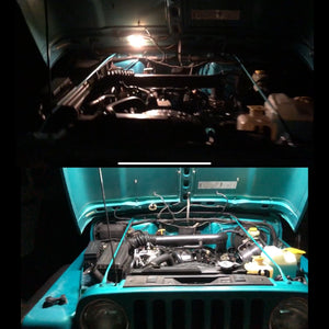 TJ LED Hood Halo (Engine Bay Kit)