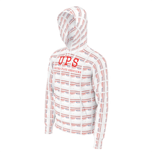 "Load image into Gallery viewer, UPS ""Priority"" All-Over Hoodie - SCARFO DA PLUG"