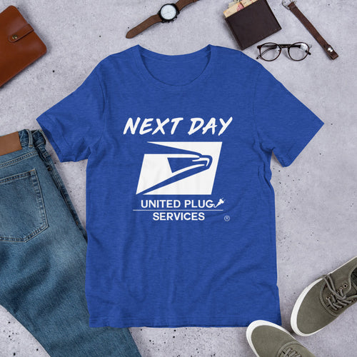 UPS 'Next Day' Short-Sleeve T-Shirt - SCARFO DA PLUG