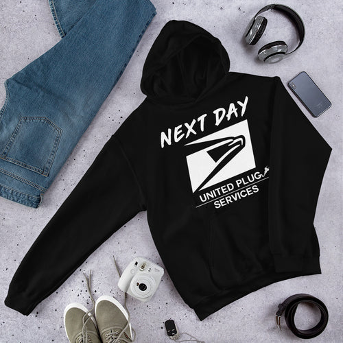 UPS 'Next Day' Hooded Sweatshirt - SCARFO DA PLUG