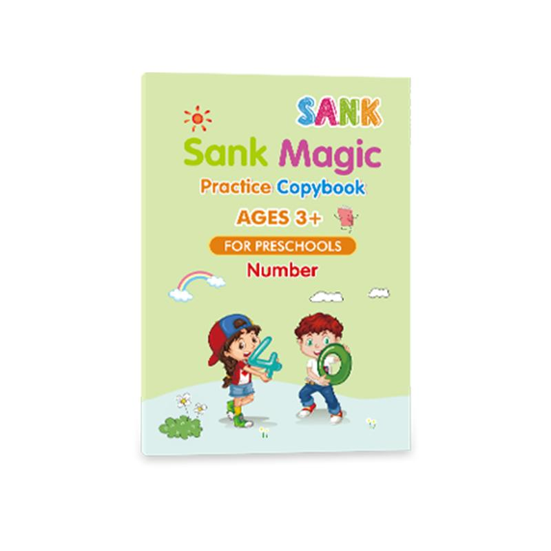 Pre-Sale>>Sank®Magic Practice Copybook