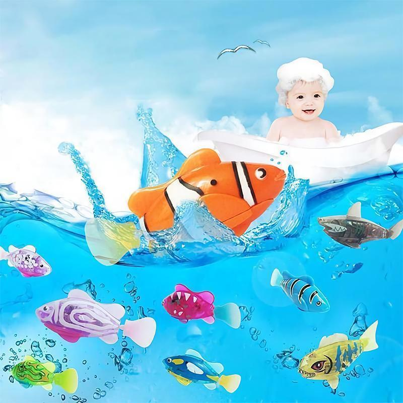 Funny Electronic Robot Fish For Kids And Pets