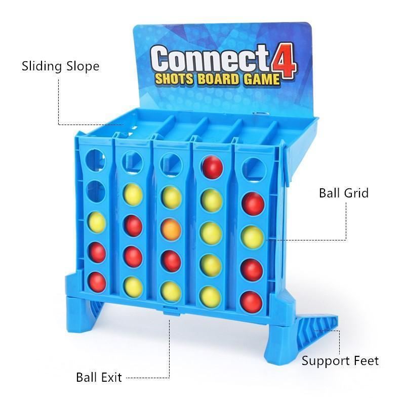 Connect 4 Shots Board Games Set For Kids