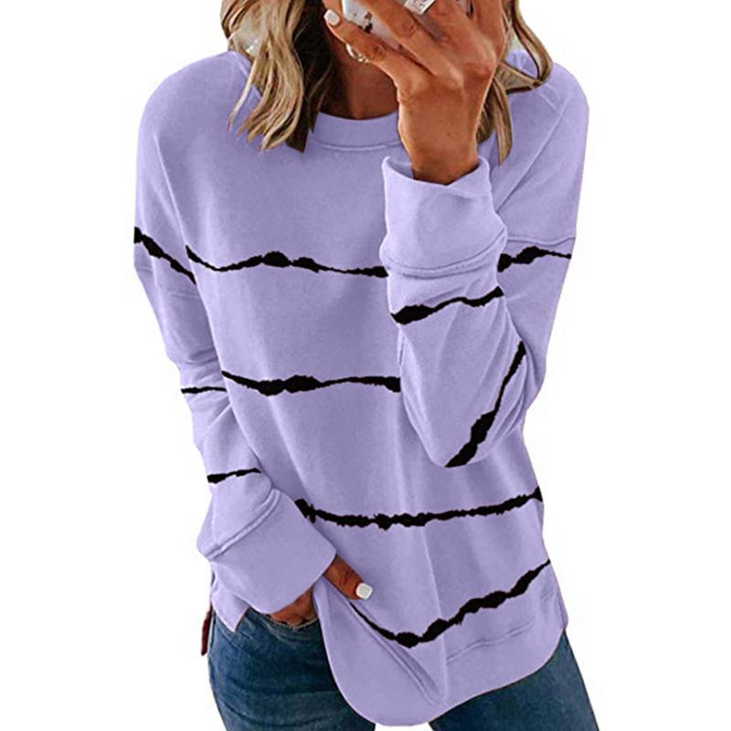 Pre-Sale>>Women Casual Stripe Pullover