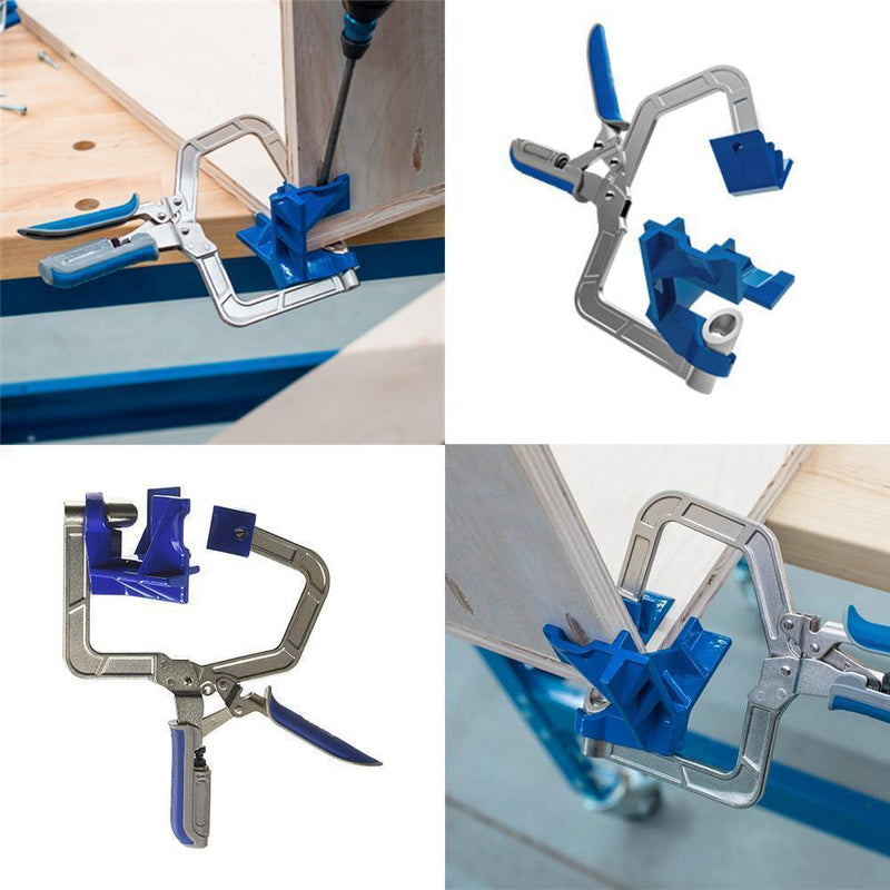 "90° Corner & ""T"" Joints Corner Clamp"