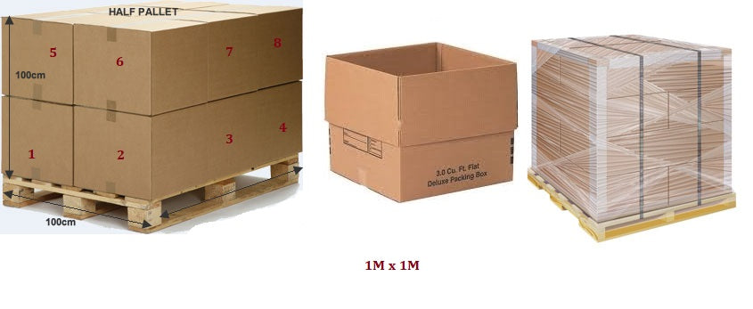wooden pallet for packing