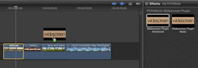 Final Cut X Plugin - Widescreen (Image 1)