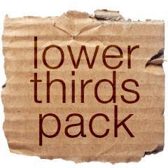 Lower Third Pack 1