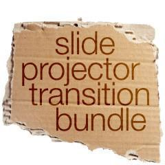 Slide Projector Transition Bundle