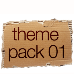 Theme Pack 01 Pixelate