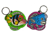 Bumphead Parrot Fish & Toby Keychain