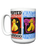WANTED! Proboscis Monkey Coffee Mugs