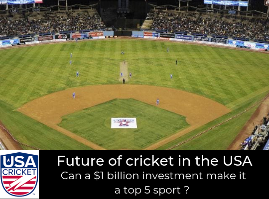 USA Cricket - What's next ?