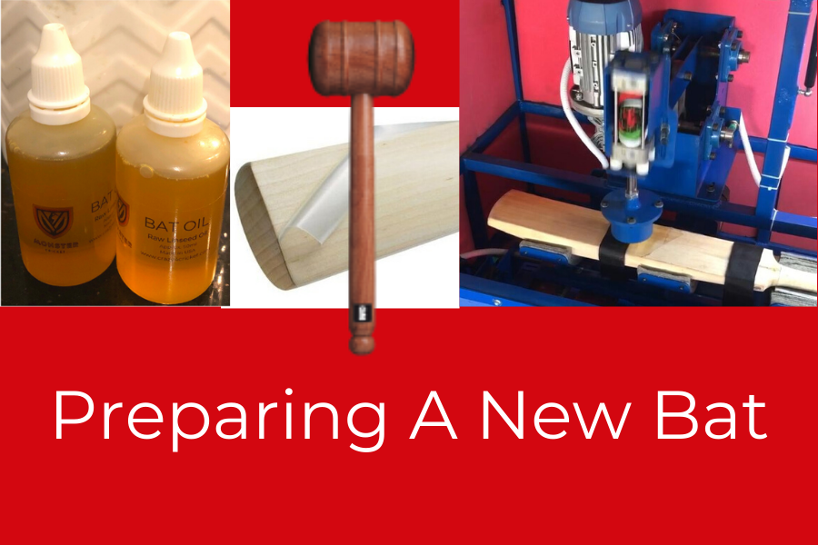 How To Season And Prepare A New Cricket Bat !