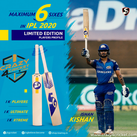 SG IK PLAYERS-  Ishan Kishan Player Bat