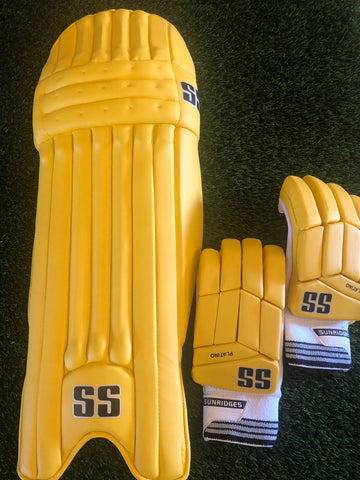 SS Match Batting Pads - Yellow (CSK)