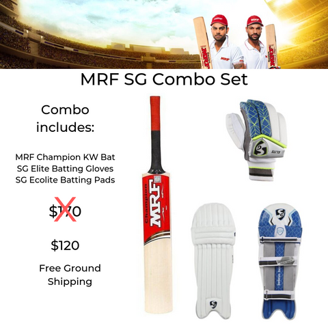 MRF SG Combo Cricket Set