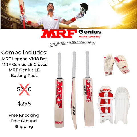MRF Virat Kohli  Legend VK18 Cricket Set